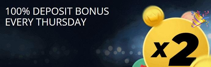 BetWinner Thursday Deposit Bonus