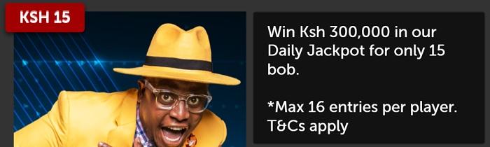 Betsafe Daily Jackpot Bonus