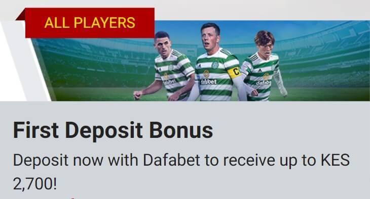Bonus Dafabet App Kenya